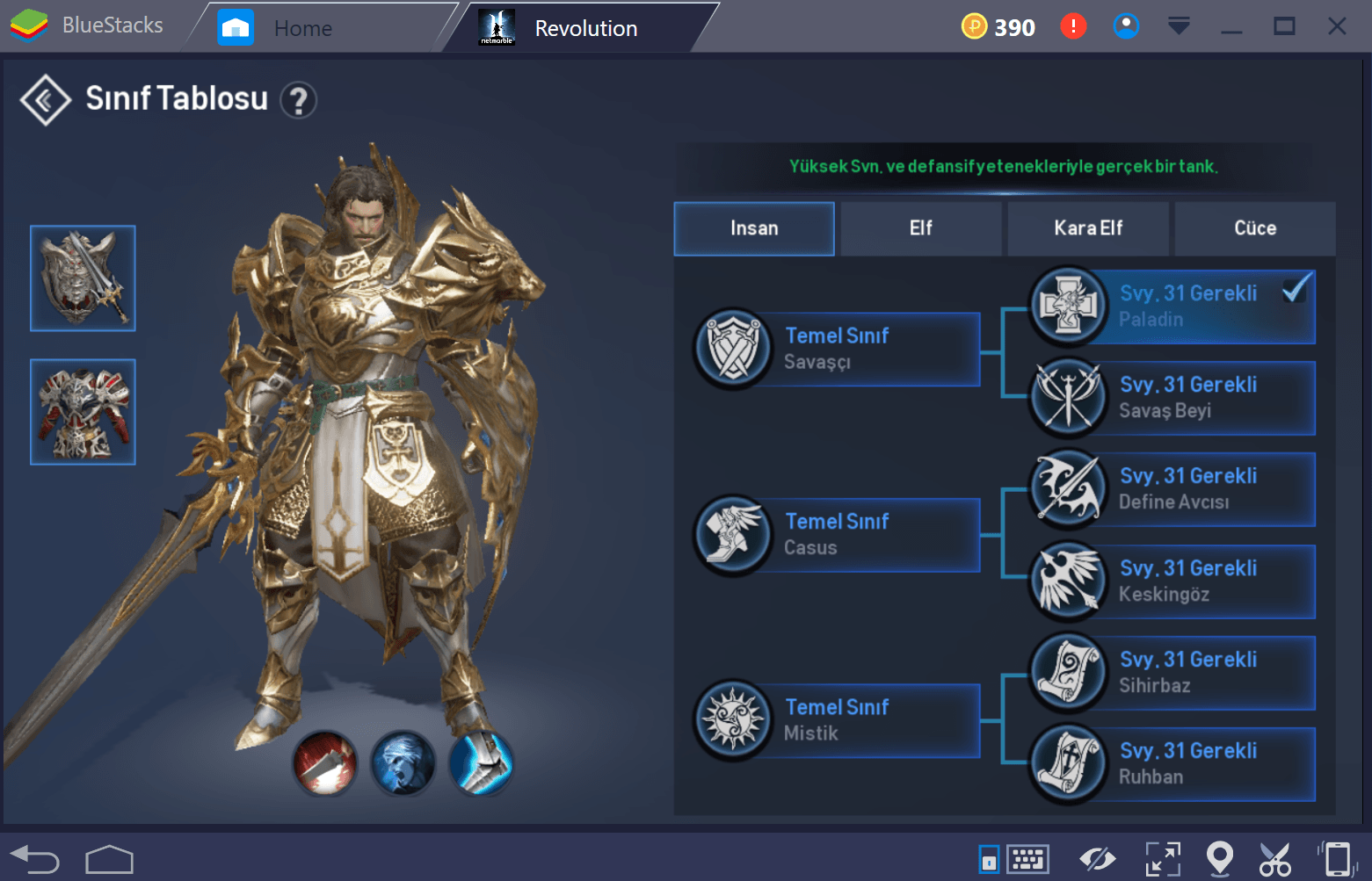 Lineage 2 Paladin Tr