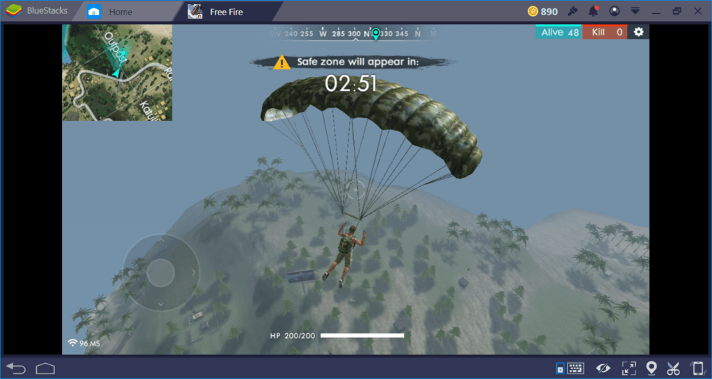 Free Fire on PC: Where to Land First?