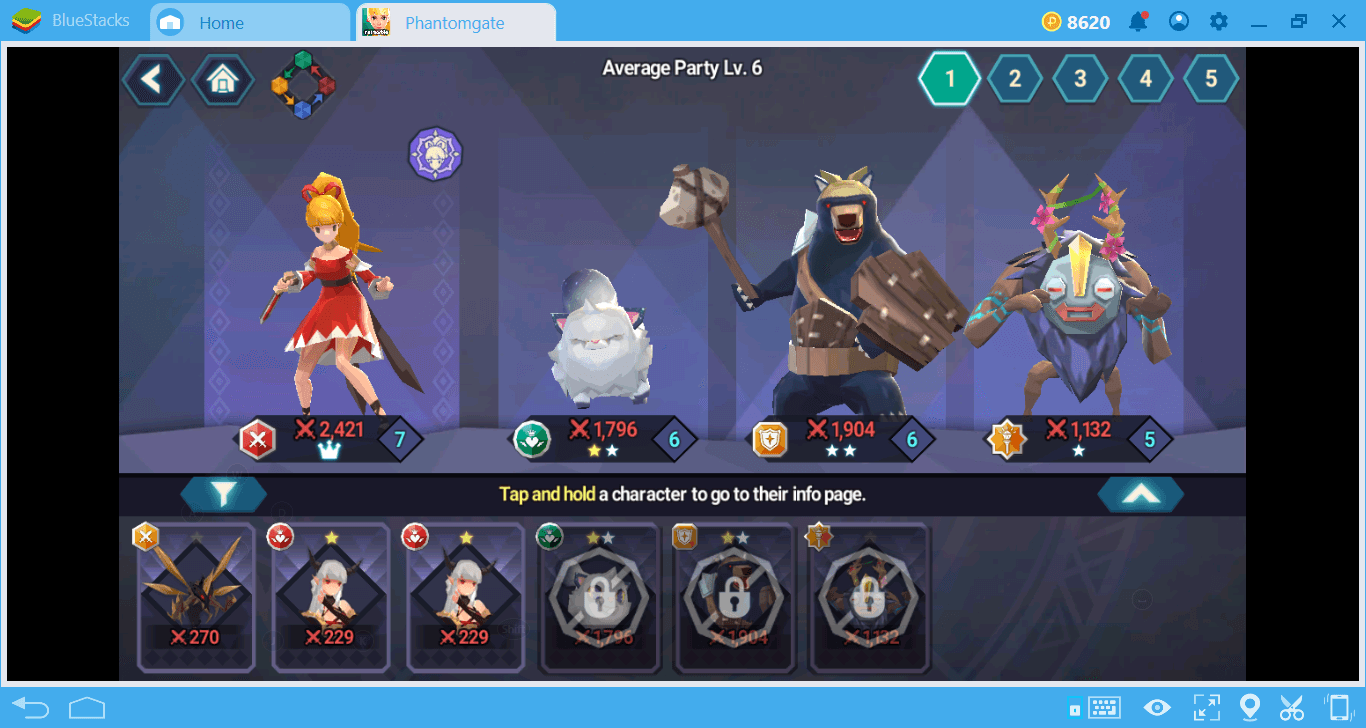 Building the Perfect Team In Phantomgate: The Last Valkyrie