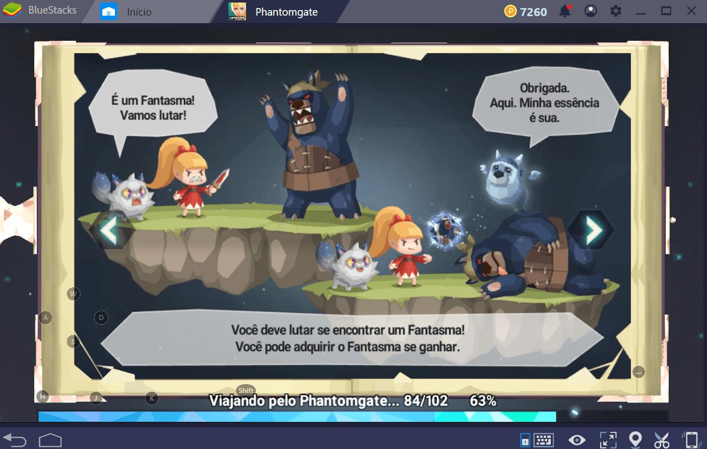 Como desbloquear novos heróis e fantasmas em Phantomgate: The Last Valkyrie