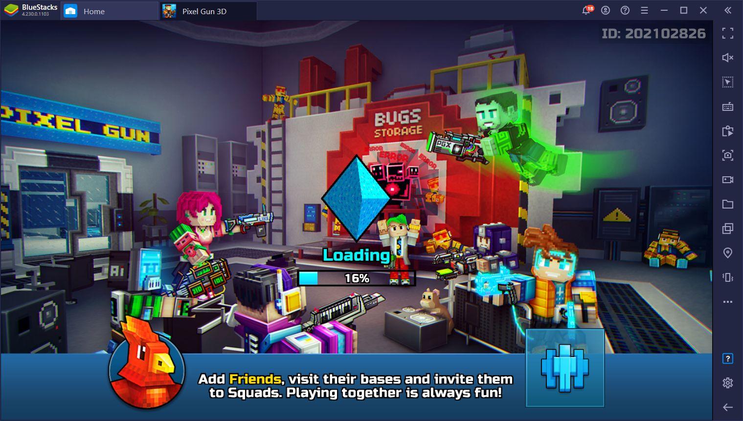 Pixel Gun 3D PC – Run n' Gun in This Shooter Game on PC With BlueStacks