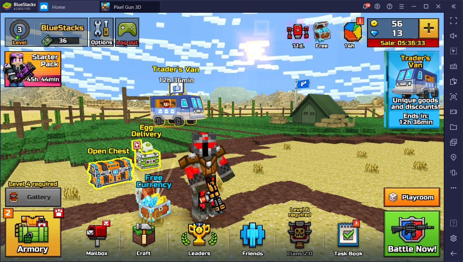 Pixel Gun 3D PC – Beste Tipps zum Überleben im Battle Royale-Modus