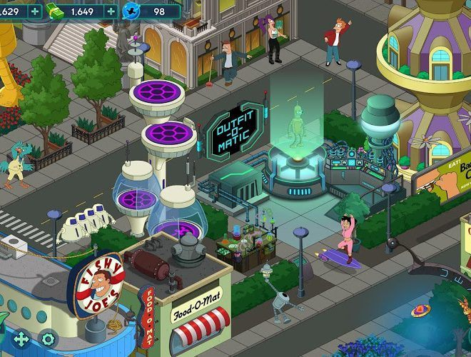 Play Futurama: Worlds of Tomorrow on PC 8