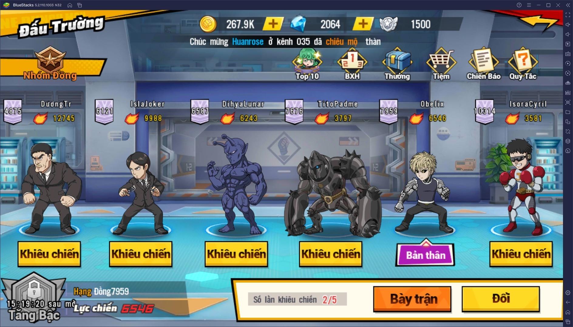"""One Punch Man: The Strongest – Bảo vệ thế giới cùng """"thánh Phồng Tôm"""" trên PC"""