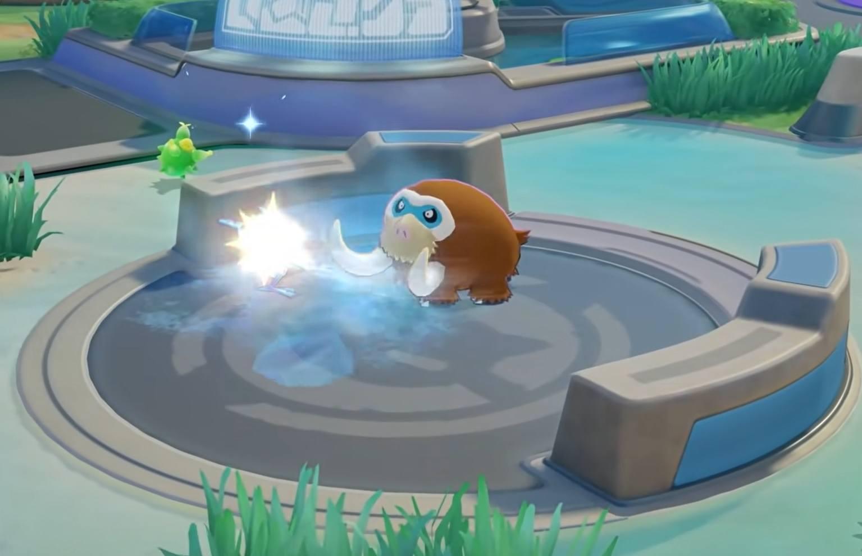 Mamoswine вошел в состав Pokemon UNITE!