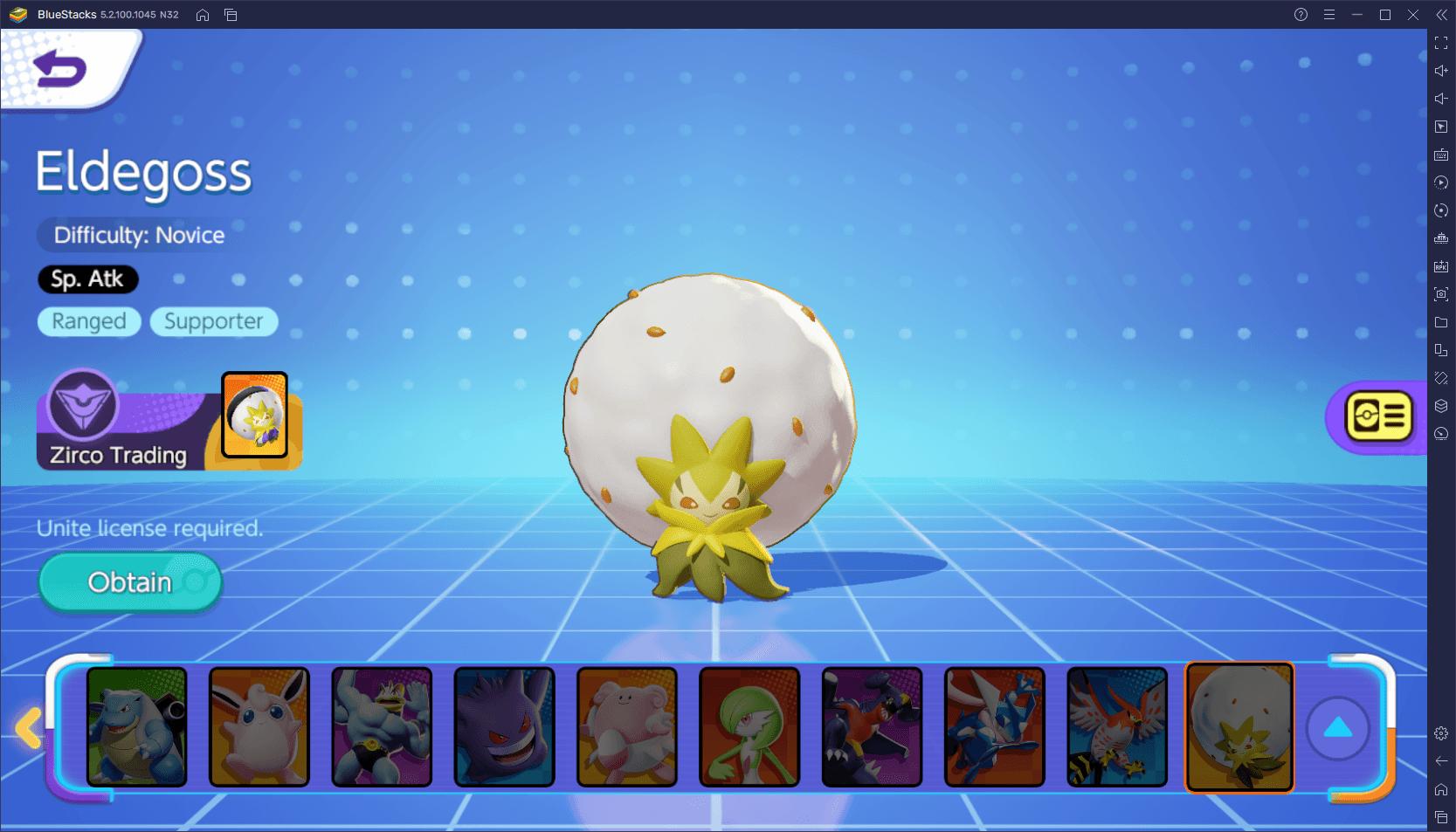 لعبة Pokémon Unite على جهاز الكمبيوتر – أفضل Pokemon لكل دور