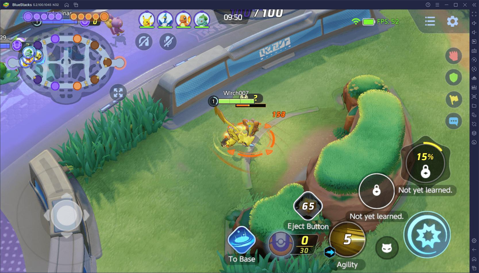 """دليل """"لاعب الغابات"""" في لعبة Pokemon Unite  – كيفية اللعب والفوز في Center Lane"""