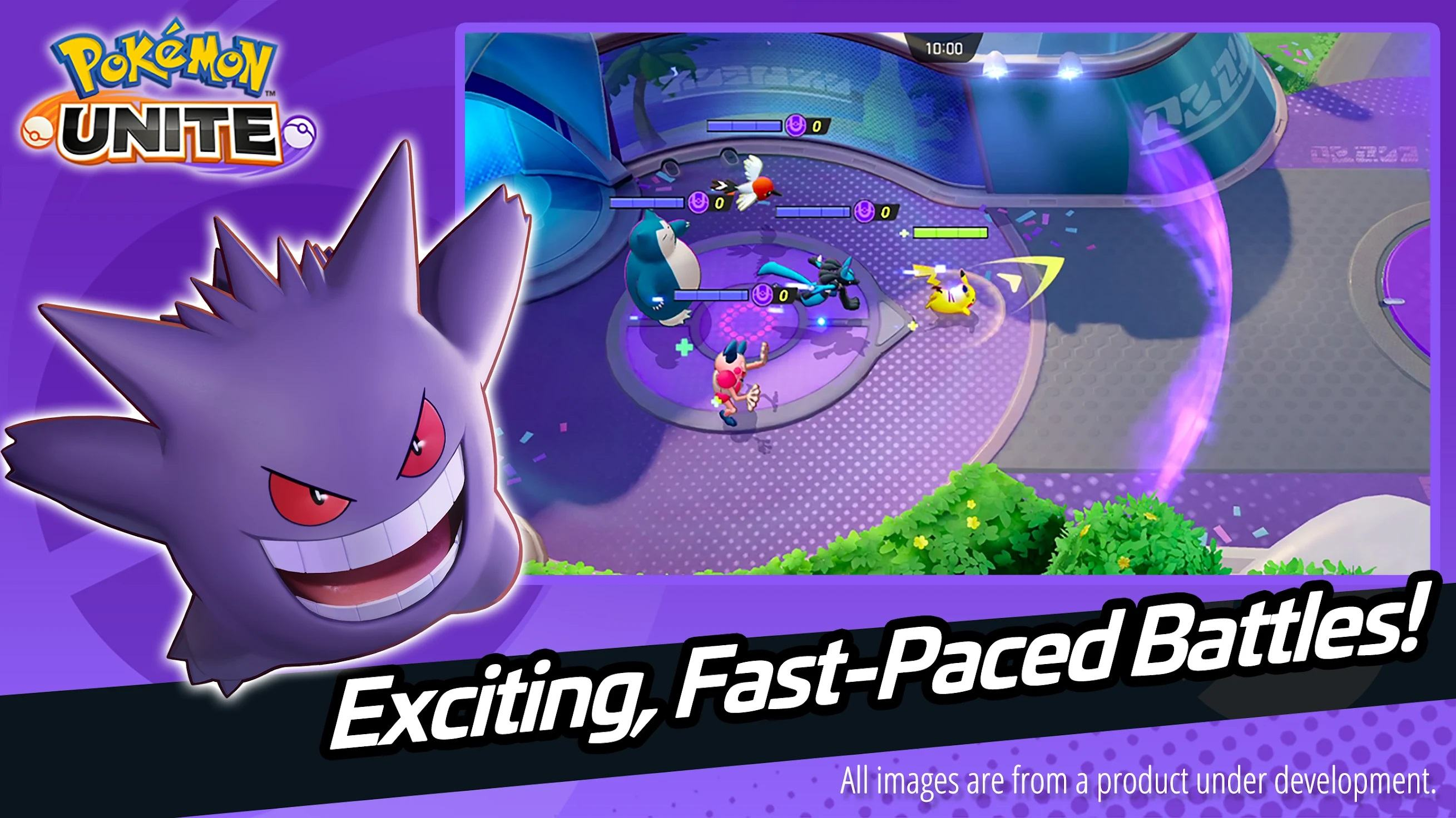 Pokemon UNITE is Now Available to Download for Mobile with a New Galactic Ghost Space Theme