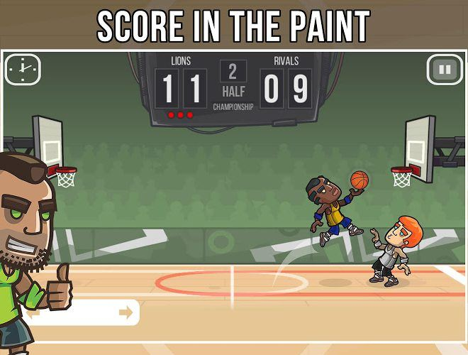 Play Basketball Battle on PC 3
