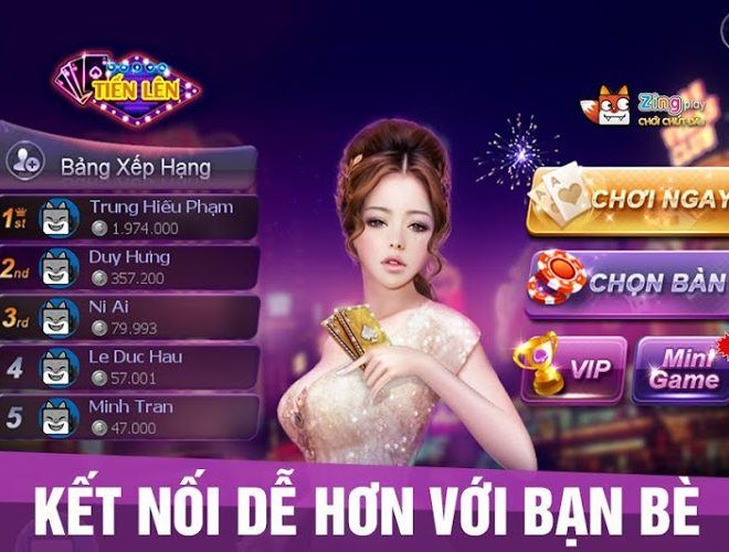 Chơi Zing Play Tienlen on pc 3