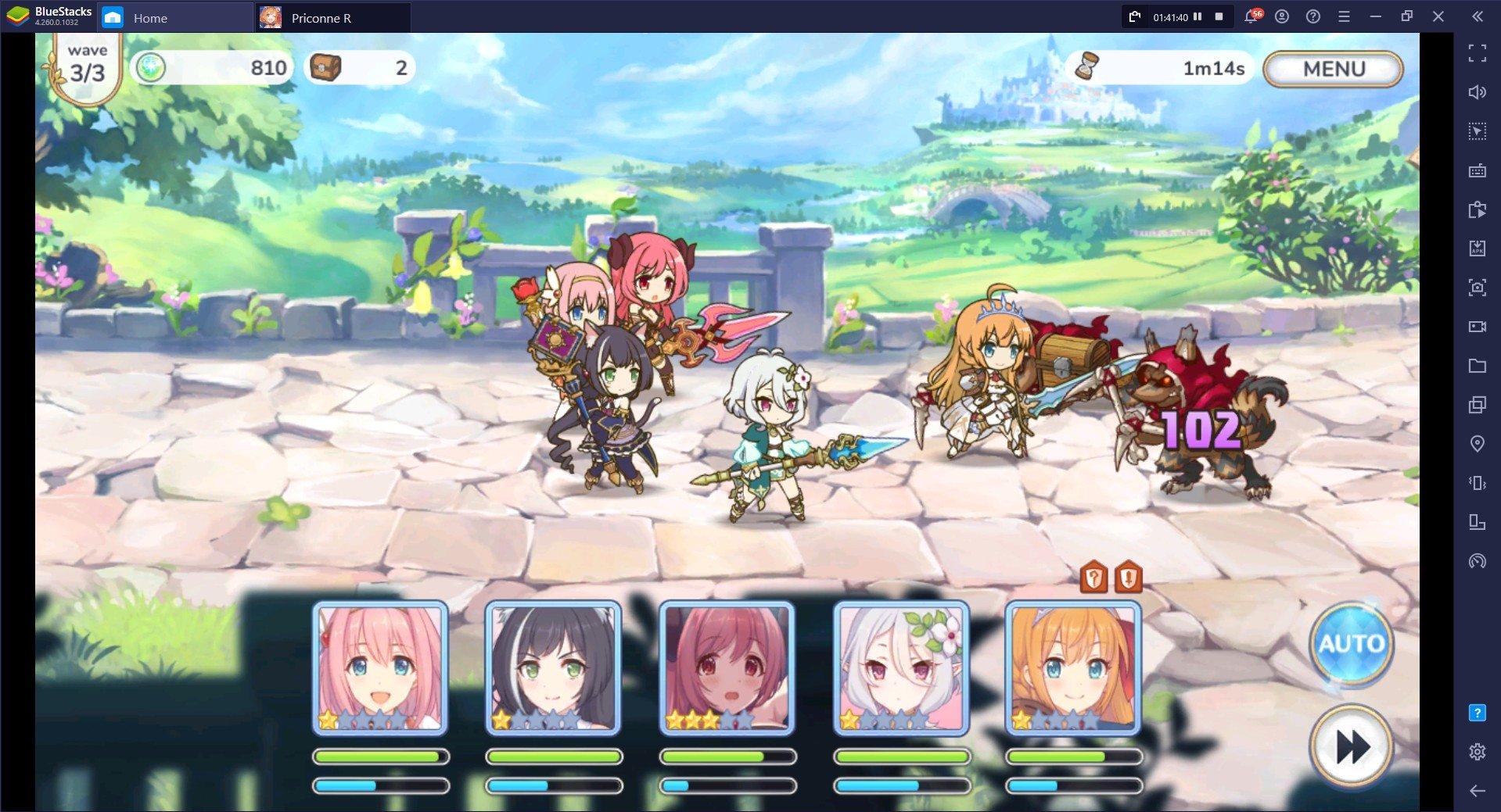 Cara Upgrade Karakter di Princess Connect! Re: Dive