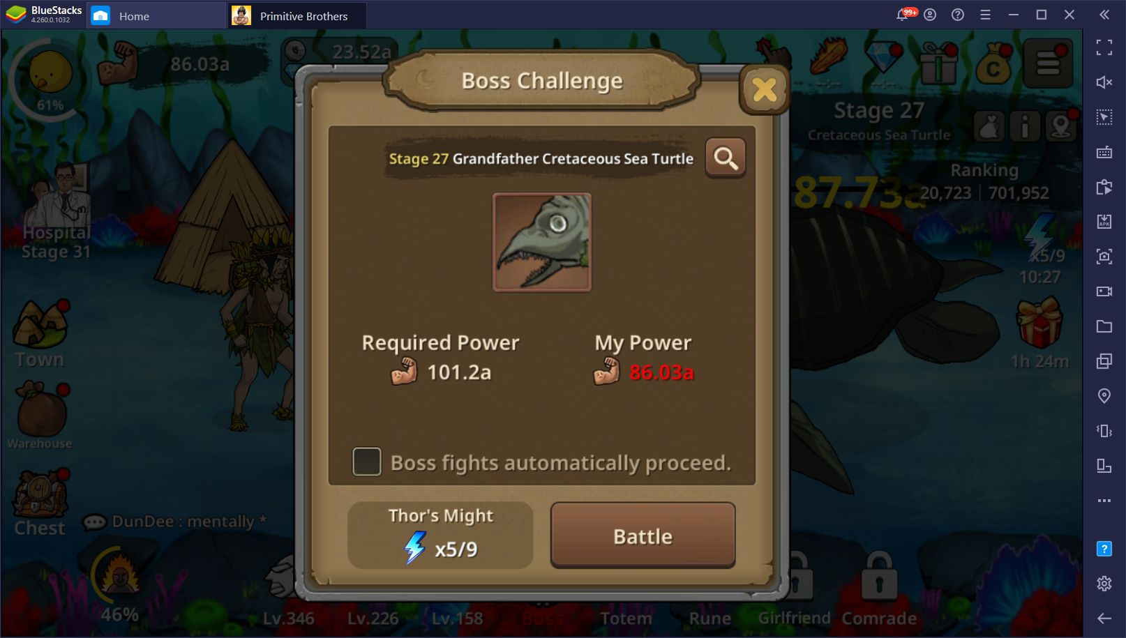 Primitive Brothers: Endless Evolution on PC – Automate Your Progress with BlueStacks