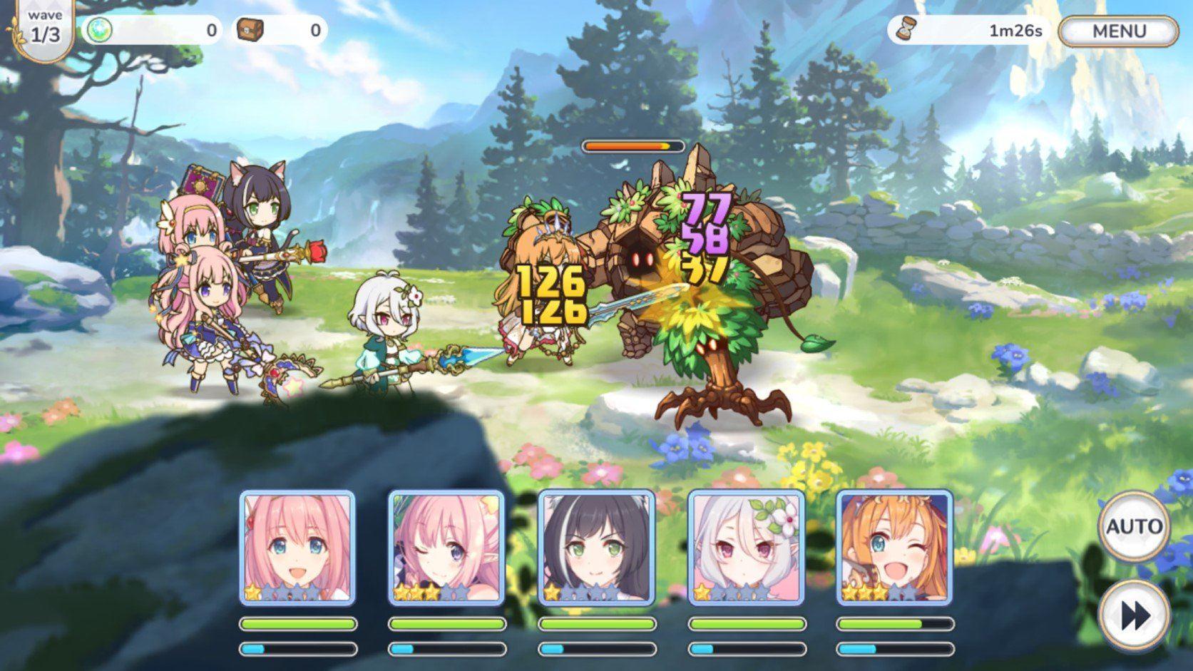 Princess Connect! Re: Dive auf dem PC – Einführung in das grundlegende Gameplay