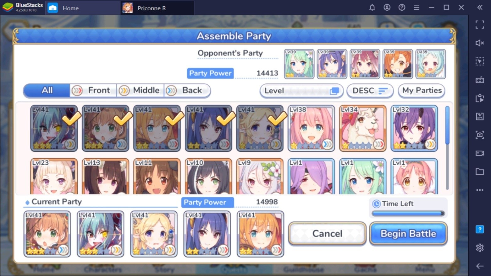 Princess Connect! Re: Dive auf dem PC – PvP Leitfaden