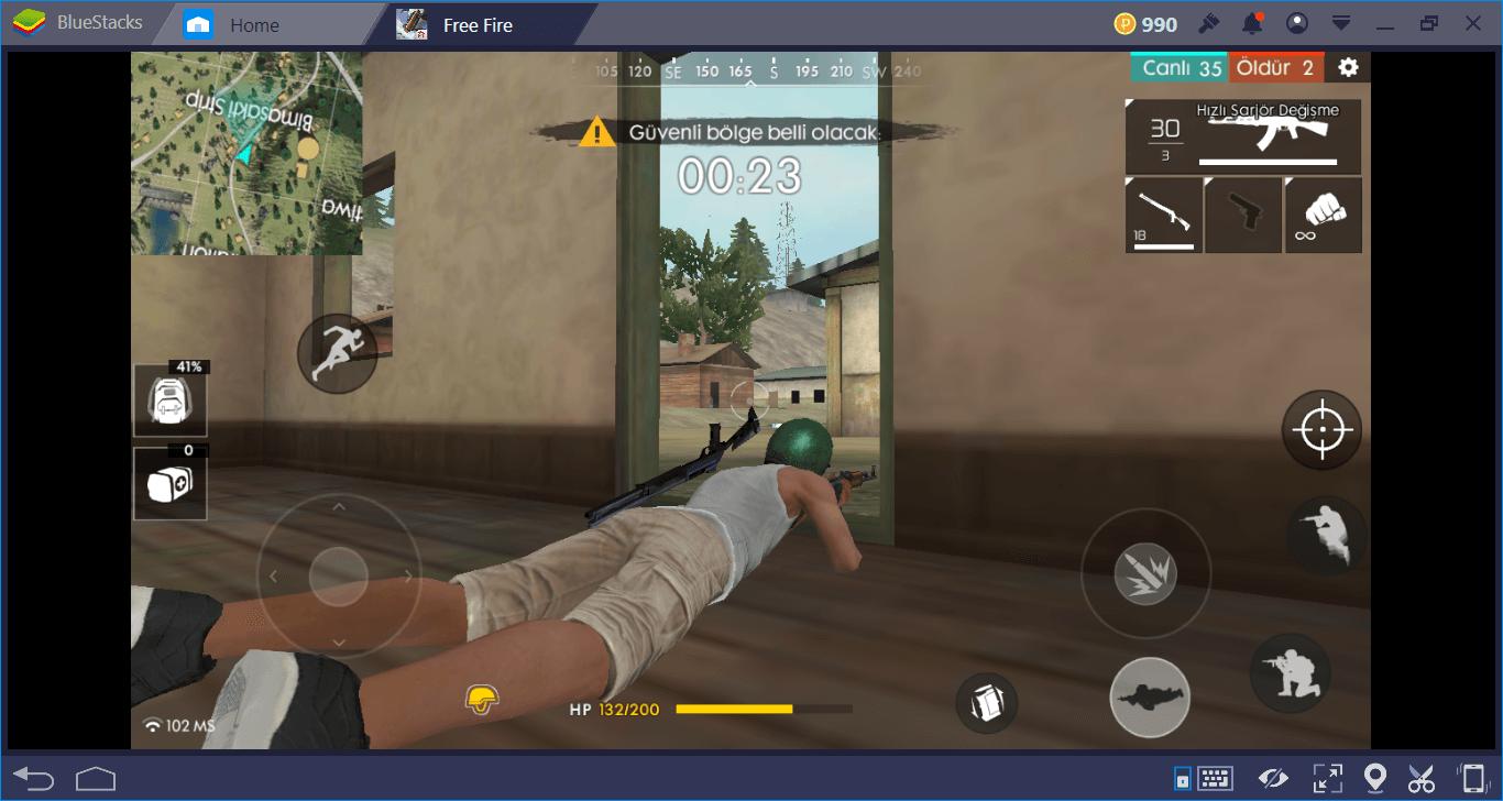 Free Fire:Battlegrounds İleri Düzey Taktikler & Oyun Sonu Rehberi