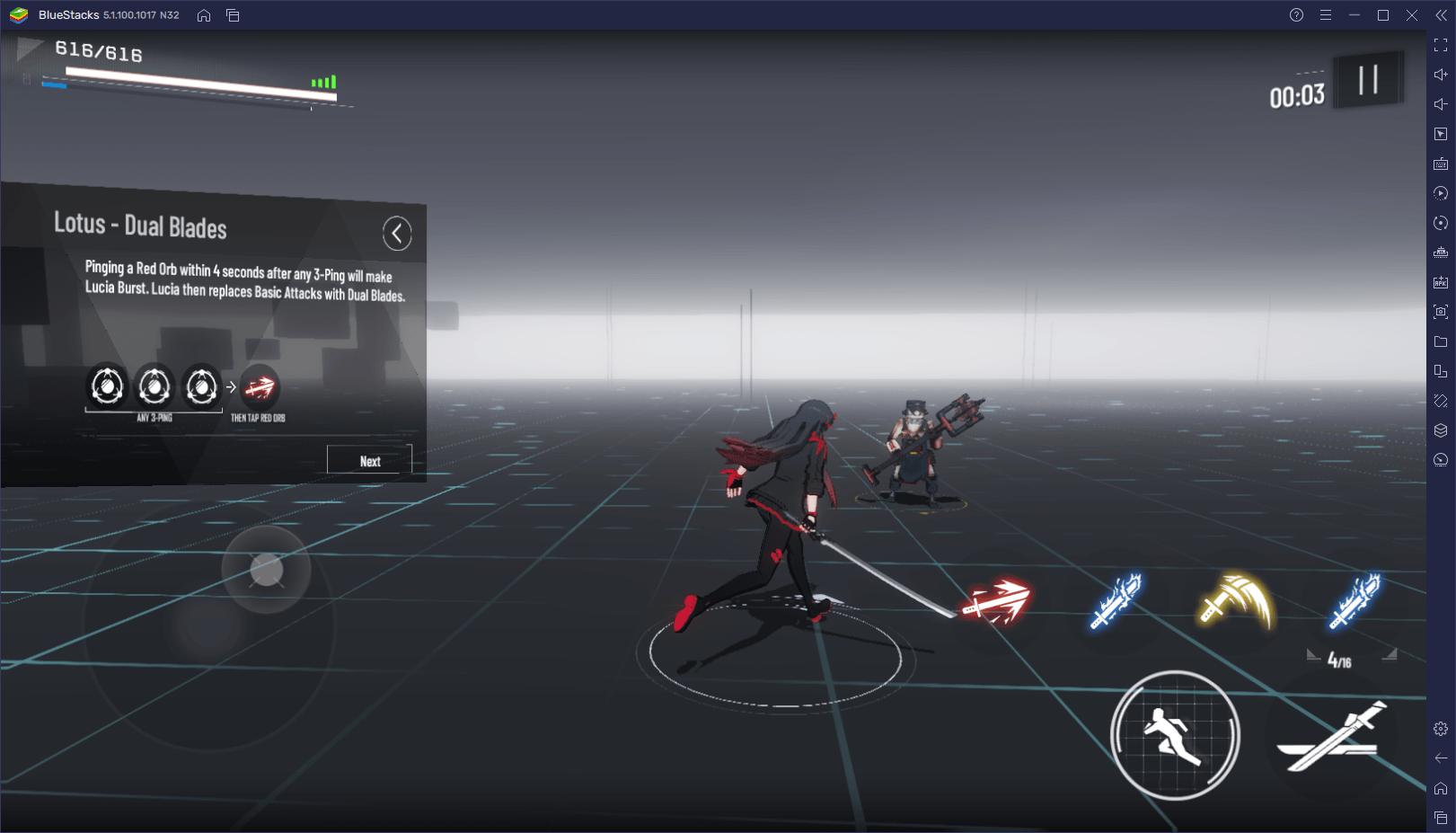 Punishing: Gray Raven – Introducción a las Mecánicas de Combate