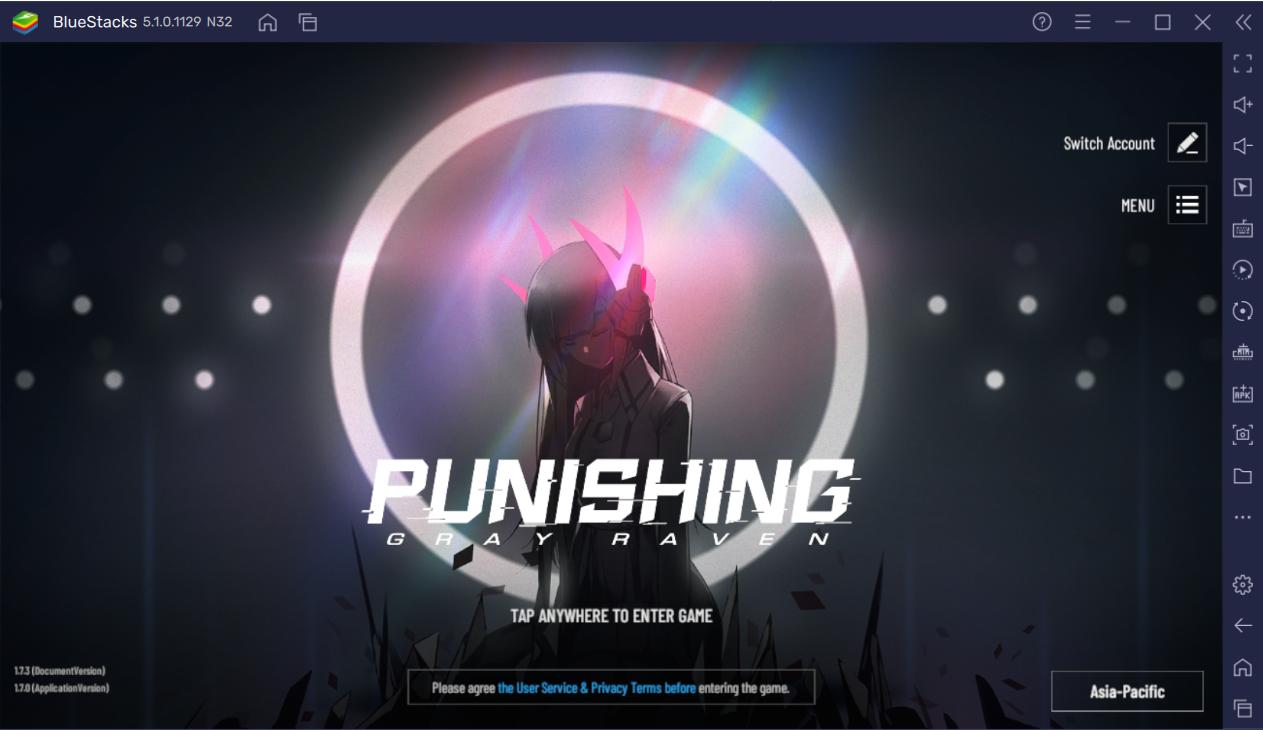 How to Play Punishing: Gray Raven on PC using BlueStacks