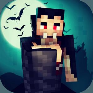 즐겨보세요 뱀파이어 크래프트: 피의 밤. 제작 게임 on PC 1