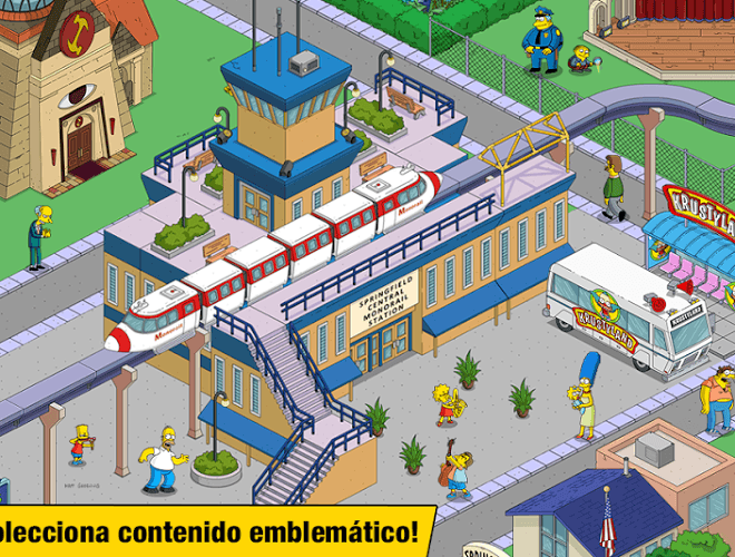 Juega Simpsons Tapped Out on pc 4