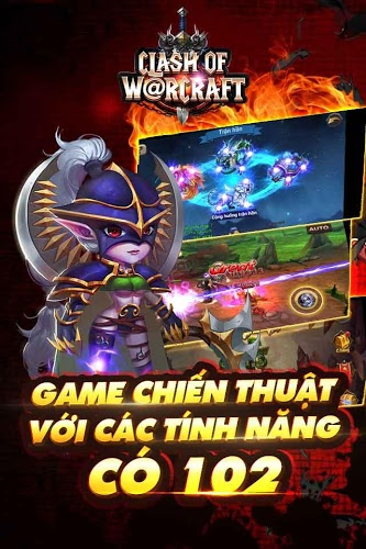Chơi Clash Of Warcraft on PC 3