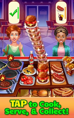 Play Cooking Craze on PC 3