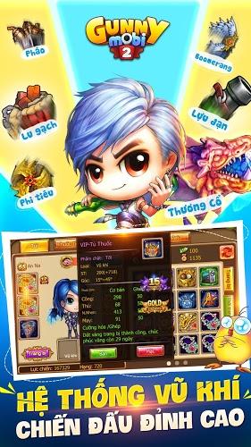 Chơi Gunny Mobi – Bắn Gà Teen&Cute on PC 18