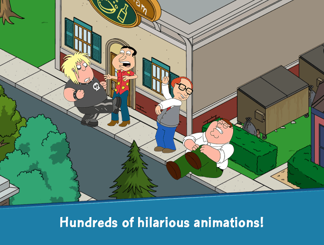 Spustit Family Guy: The Quest for Stuff on PC 12