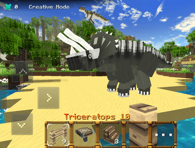 Play Jurassic Craft on pc 2