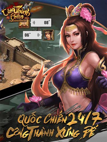 Chơi Công Thành Chiến Mobile on PC 6