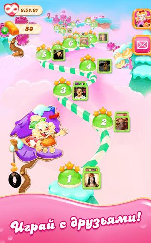 Играй Candy Crush Jelly Saga На ПК 11