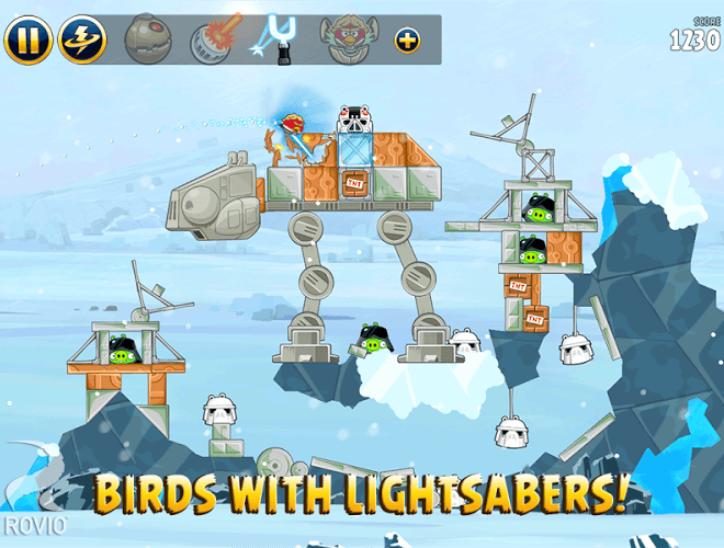 Play Angry Birds Star Wars on PC 13