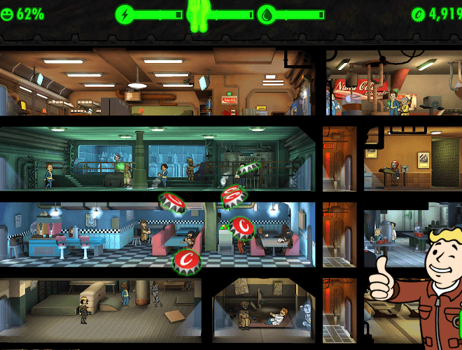 เล่น Fallout Shelter on pc 15
