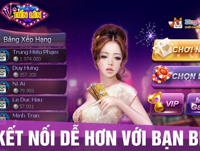 Chơi Zing Play Tienlen on pc 8