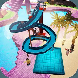 즐겨보세요 워터 파크 크래프트 : 3D 모험 워터 슬라이드 만들기 on PC 1