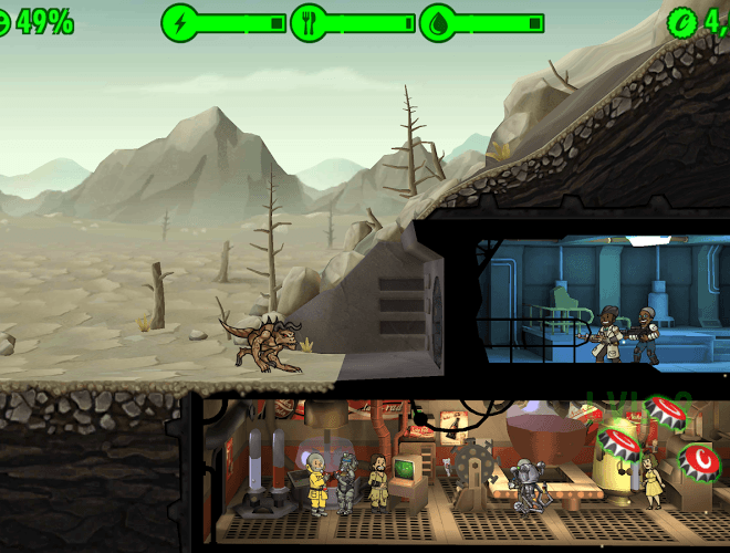 Spielen Fallout Shelter on pc 9