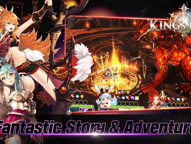 Play King's Raid on PC 11