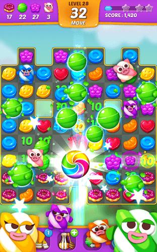 즐겨보세요 Lollipop: Sweet Taste Match 3 on PC 4