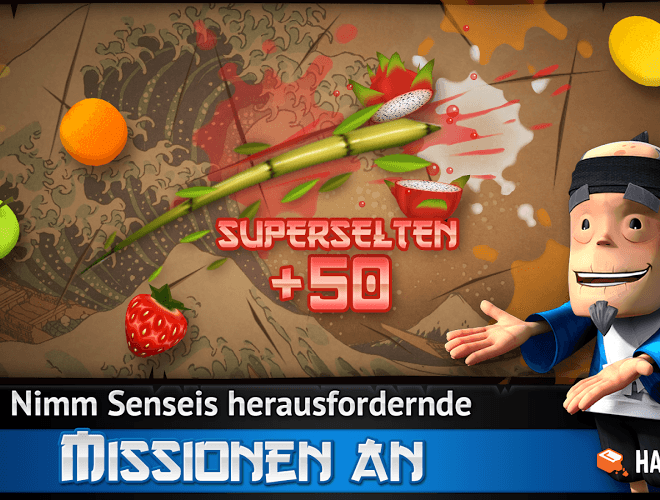 Spielen Fruit Ninja Free on PC 5
