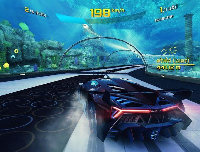 เล่น Asphalt 8: Airborne on PC 20