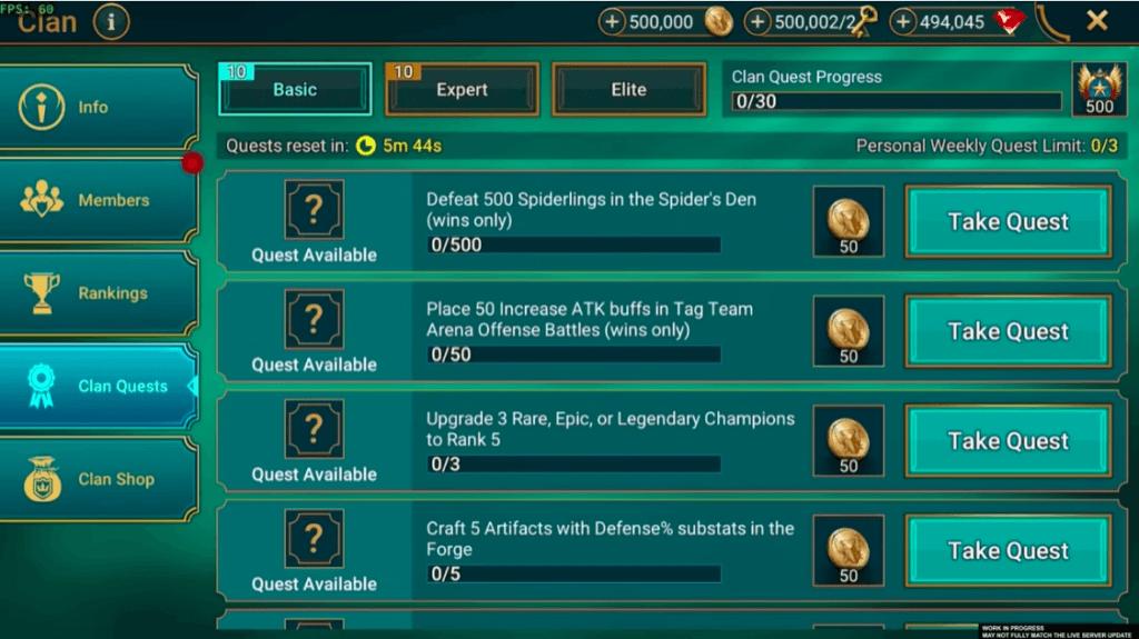RAID: Shadow Legends – Große Clan-Verbesserungen, Änderungen der täglichen Login-Belohnung und mehr in Patch 4.50