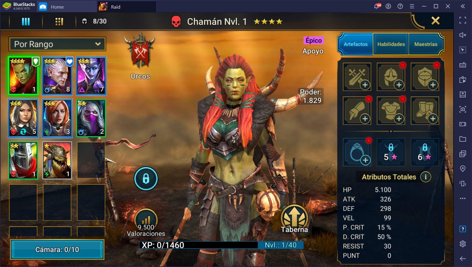 Actualización 2.30 para RAID: Shadow Legends – 5 Nuevos Héroes, Una Nueva FAQ, y Adiciones al Bazar