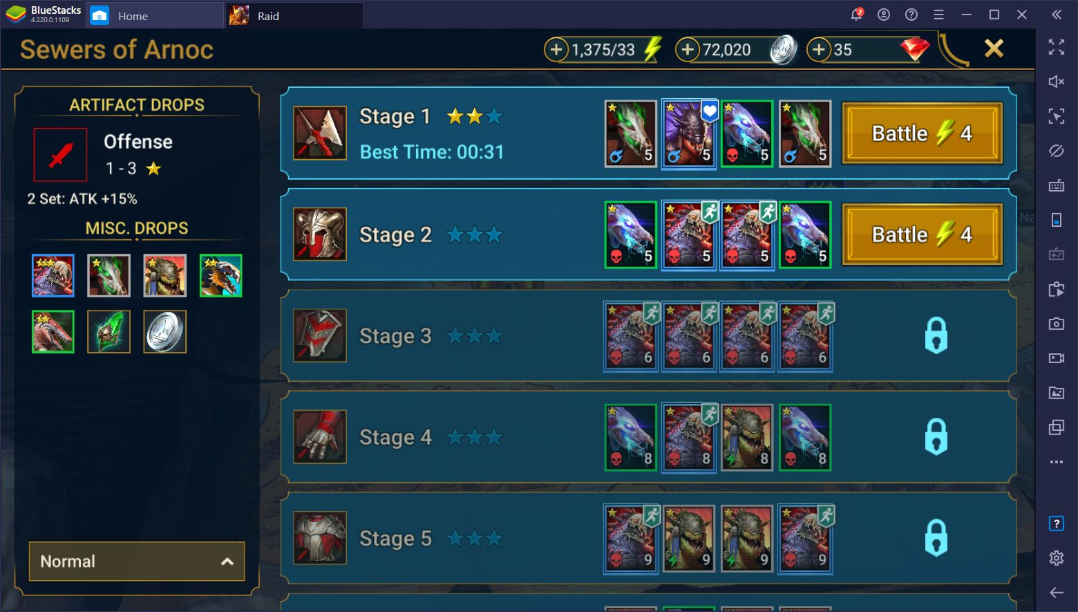 RAID: Shadow Legends – Cara Farming XP, Silver, dan Semua Sumber Daya Lainnya