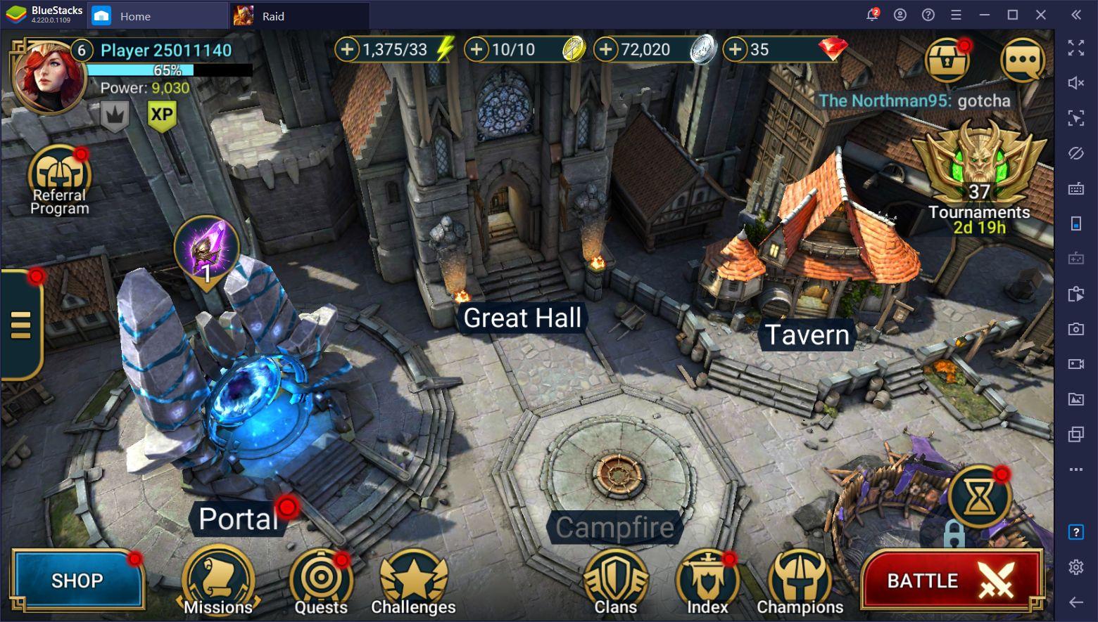 RAID: Shadow Legends – วิธีการฟาร์ม XP, เงิน และทรัพยากรต่างๆ
