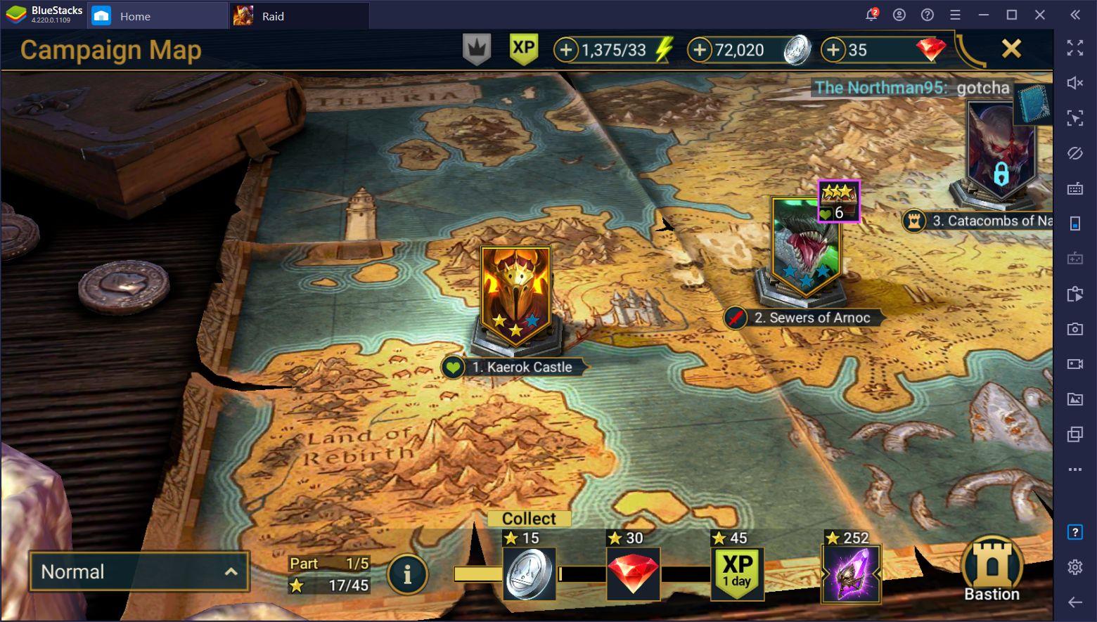 RAID: Shadow Legends – Cách farm điểm XP, Bạc và các tài nguyên khác