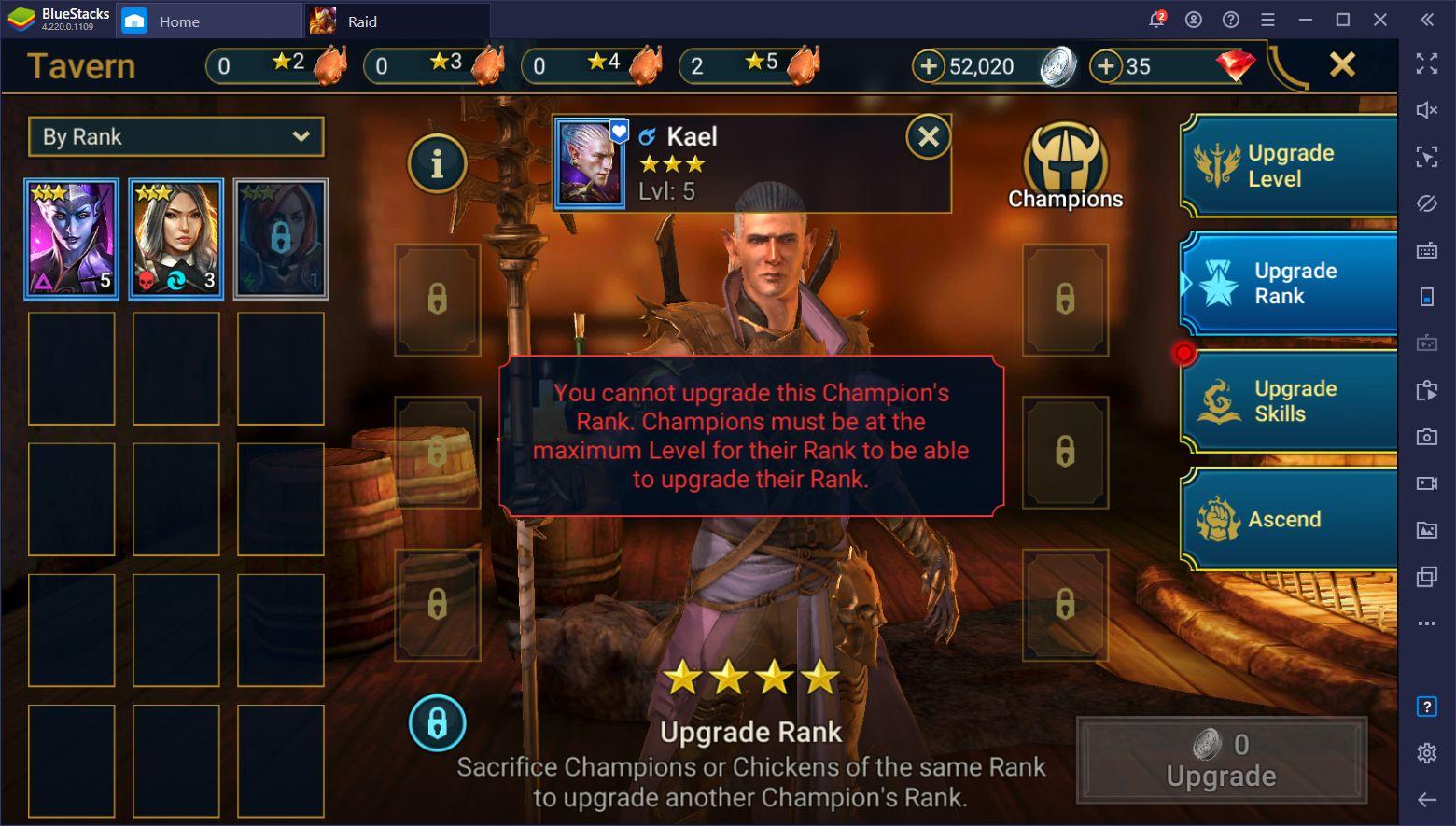 Người mới chơi nên làm gì khi bắt đầu RAID: Shadow Legends