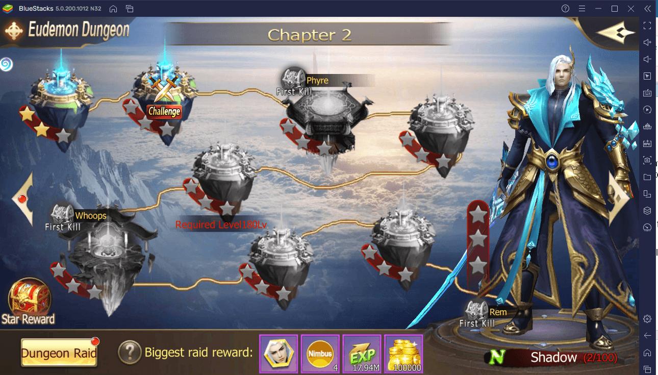 Le Guide du Farming d'Or et d'EXP dans Rebirth of Chaos: Eternal Saga
