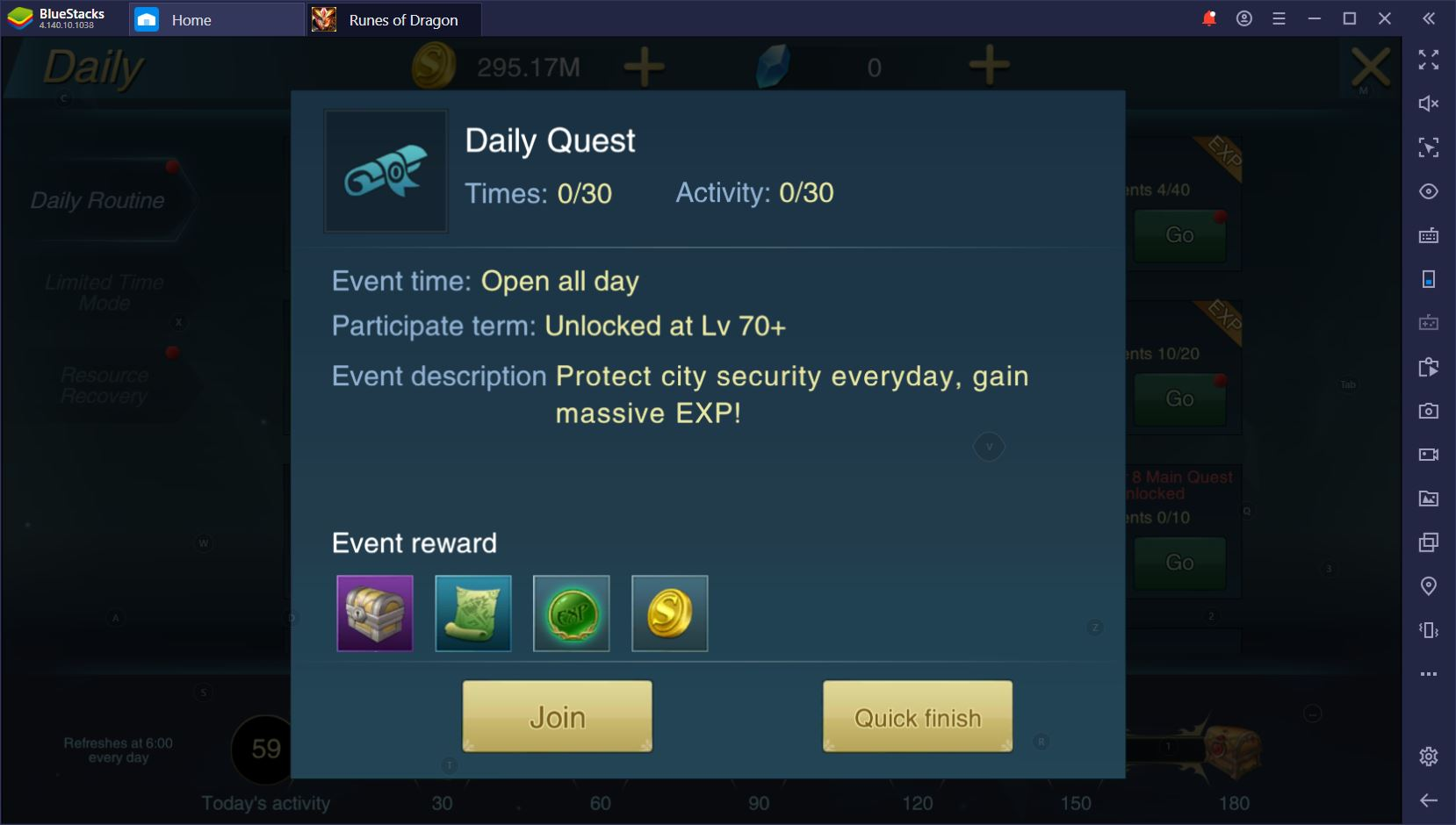 Runes of Dragon on PC: Daily To-Do List for Active Players