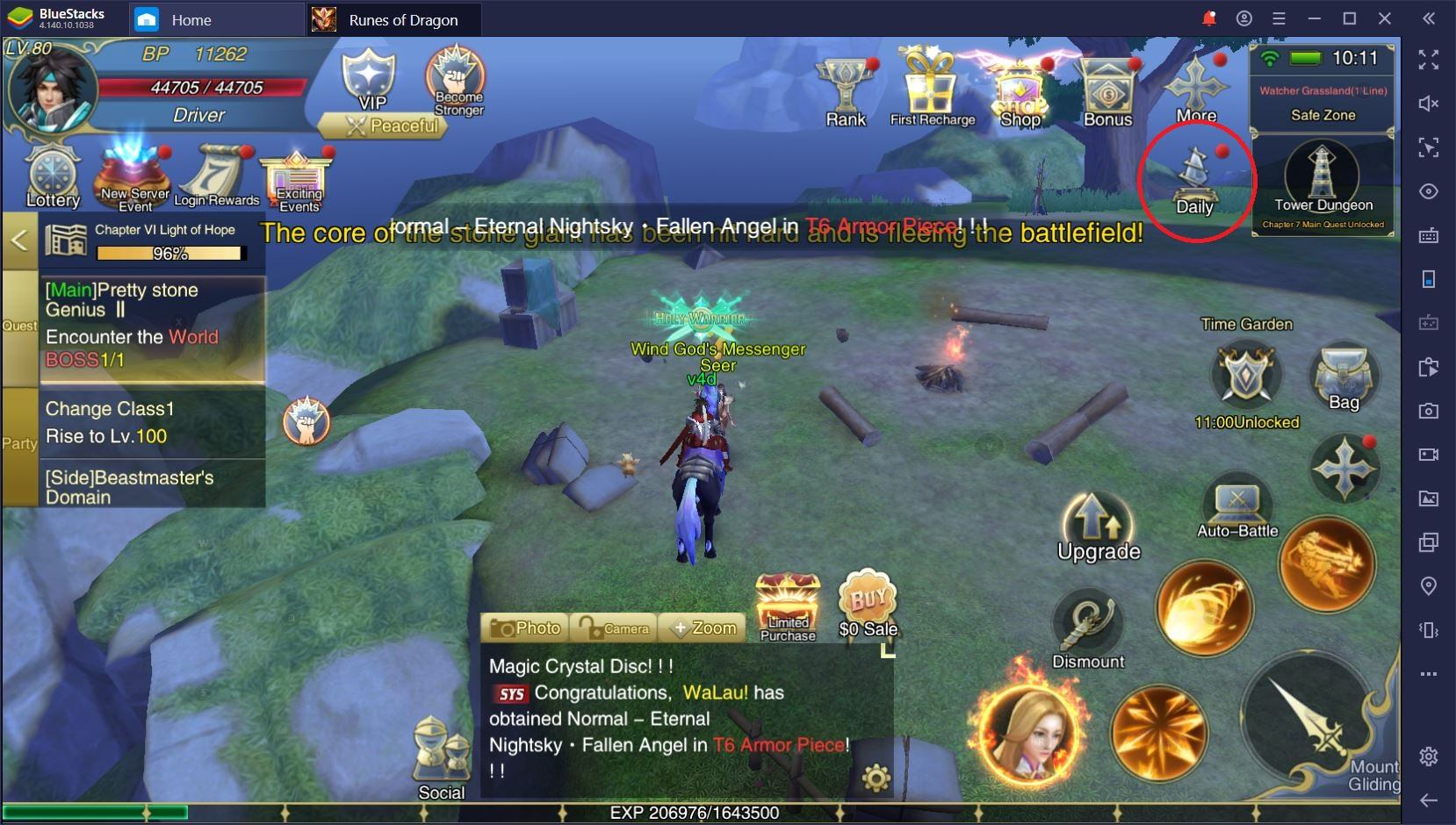 Runes of Dragon on PC: How to Choose Your Class and Level Up Quickly