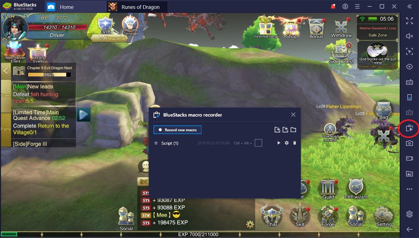 How to Play Runes of Dragon on PC with BlueStacks