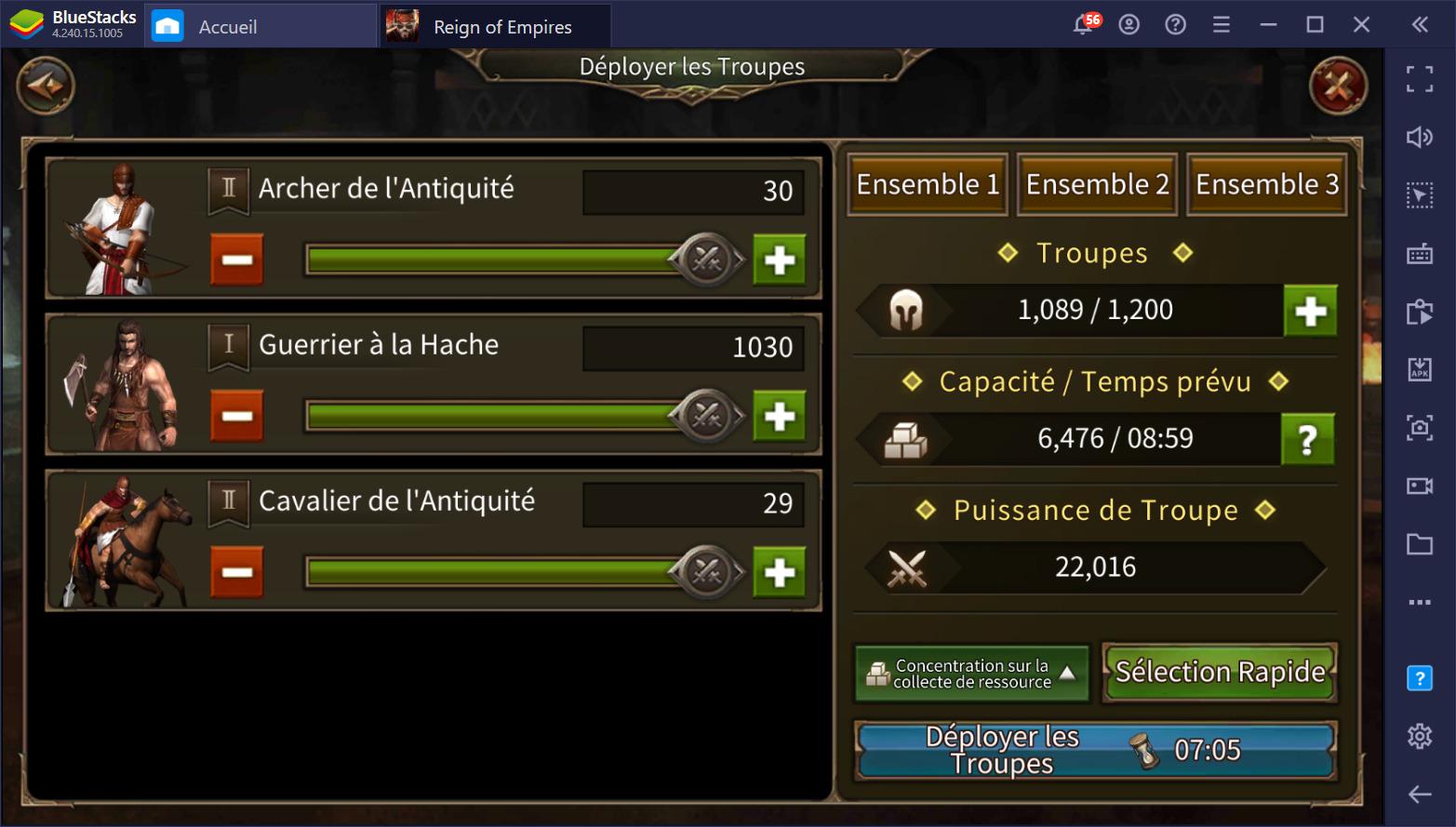 Guide sur les troupes et les combats de Reign of Empires – Le RTS aux batailles épiques sur PC
